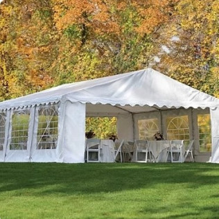20'x20' Party Tent $350.00 20'x20' Party Tents $550.00 (total space 20'x40')